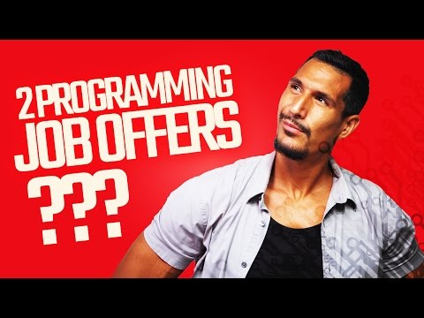 Choosing Between 2 Programming Job Offers