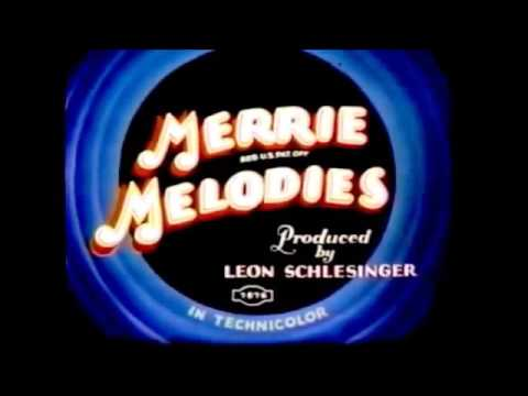 Merrie Melodies Openings and closings 1931-1969 Best one ever