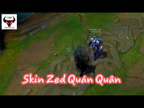 Skin Zed Quán Quân/Championship Zed Skin - League of Legends