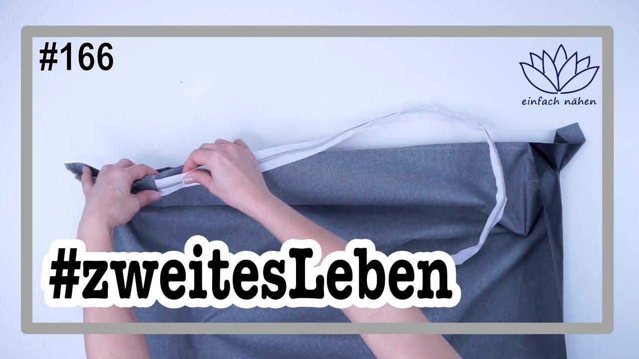 Upcycling Alte Matratze Beziehen Fur Eine Gartenbank Mit Anna Von Einfach Nahen Youtube