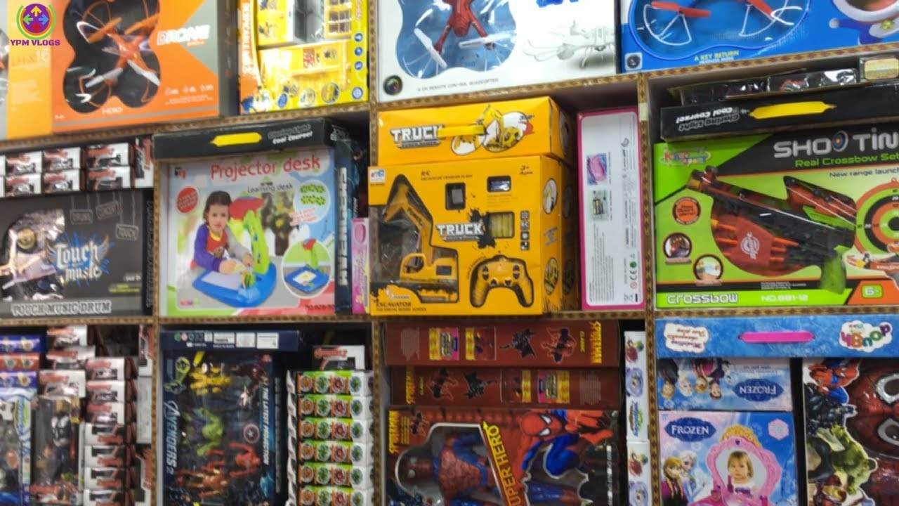 Wholesale Toy Market Rc Car In Rs 100 Drones In Rs 500 Youtube