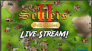 Settlers 2 Gold Edition: Live Stream. Retro PC Games Live. #2