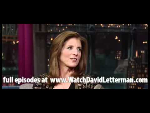 Caroline Kennedy in Late Show with David Letterman October 6, 2011