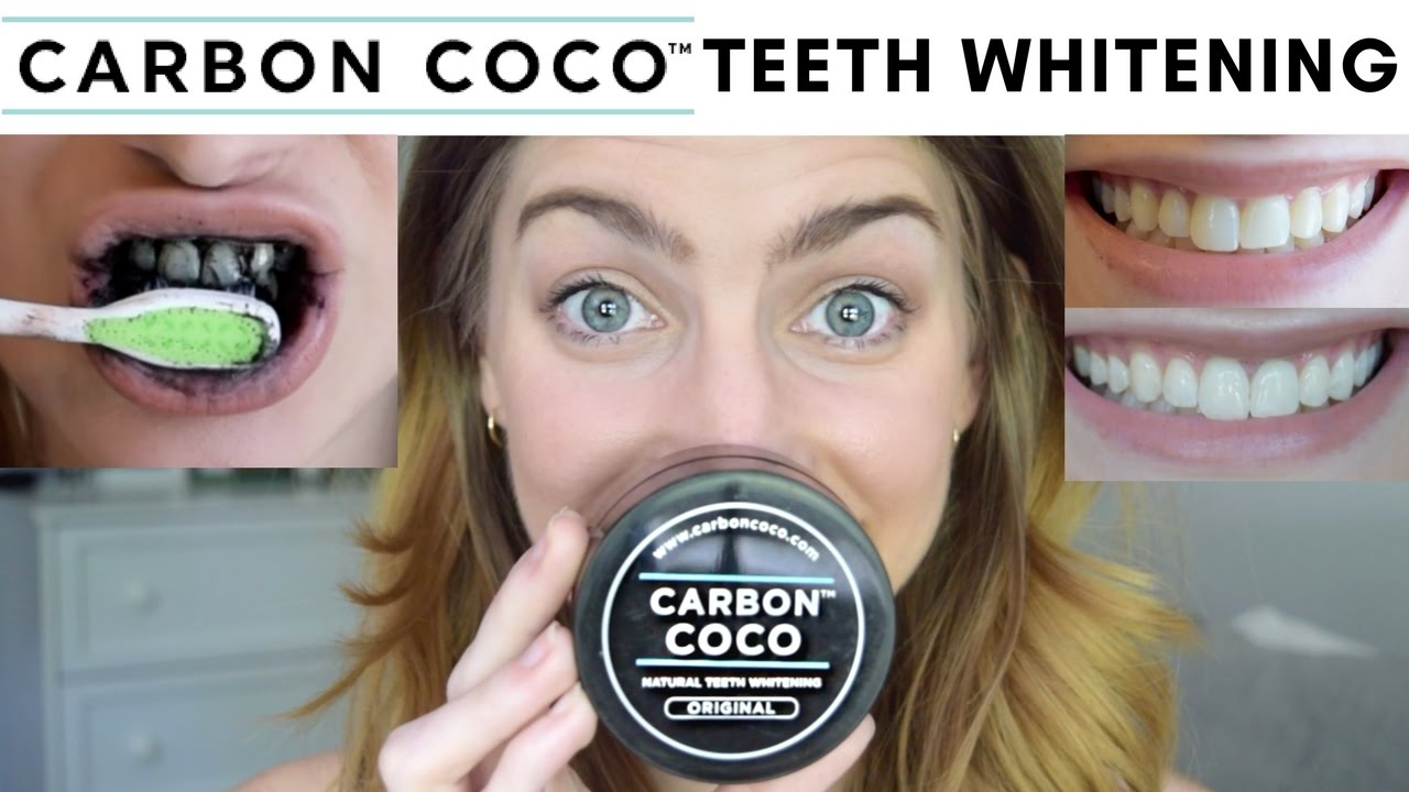 carbon coco teeth whitening review demo activated charcoal tooth polish youtube. Black Bedroom Furniture Sets. Home Design Ideas