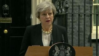 Theresa May  The terrorists will never win
