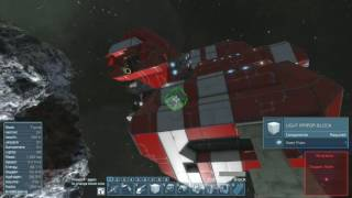 Space Engineers Solo survival part 2 WHERE