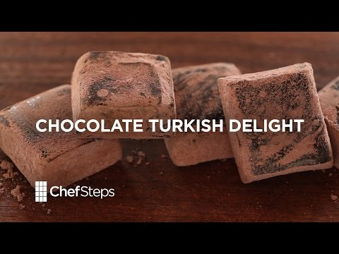 Make Chocolate Turkish Delight • ChefSteps Recipe Pictures