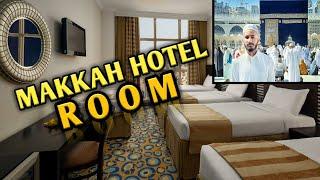 MAKKAH HOTEL ROOM REVIEW AL MUKHTRA HOTEL SAJID ALI VLOGS
