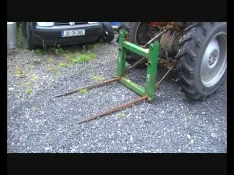 Multi Purpose 3 point Linkage Fork - How to make one Part 1