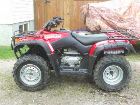 Honda TRX 350 Fourtrax (Rancher) Restoration