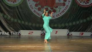 �������� ���� Anastasia Vilkova, baladi / Winner of the European Championship, oriental folk 2017 ������