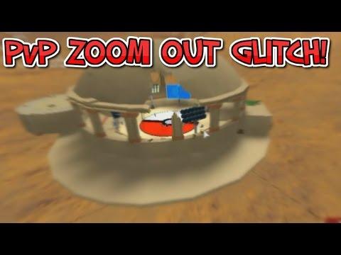ROBLOX | Pokemon Brick Bronze | Battle Colosseum ZOOM OUT Glitch!