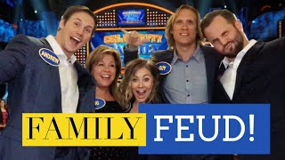 FAMILY FEUD!!! | Shawn and Andrew
