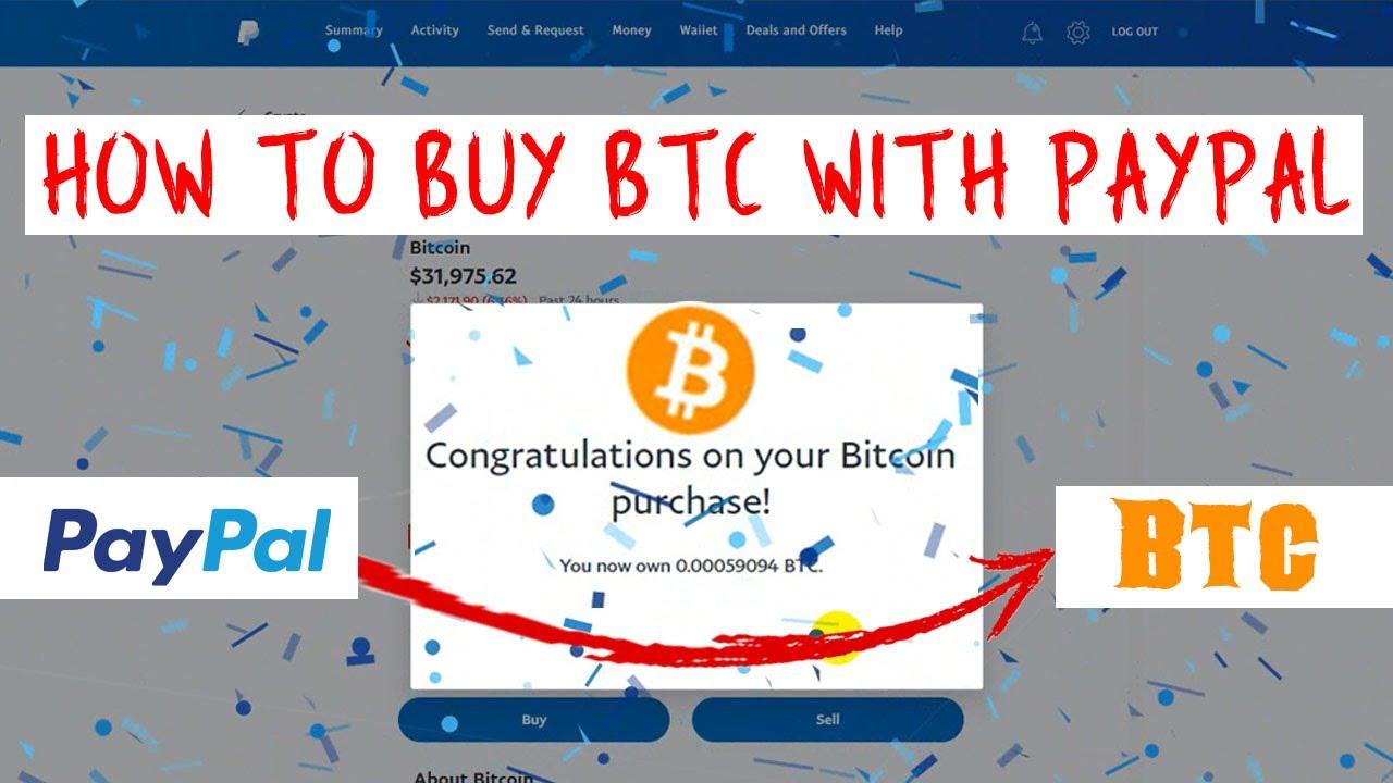 hogyan küldhet pénzt bitcoin-tól a paypalig