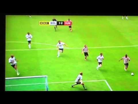 sunderland vs bolton -muntari-90th minute