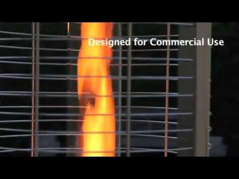 Goliath 15kW Commercial Gas Flame Patio Heater from Heat Outdoors