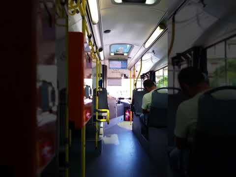 Taking the 96 bus from Athens ,Greece airport