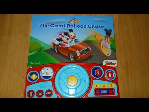 Play-a-Sound: Mickey Mouse Clubhouse, The Great Balloon Chase book