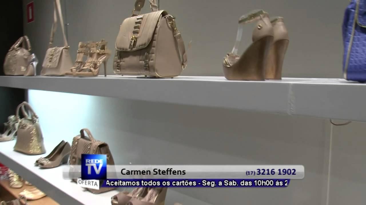 debb71d5e SAPATOS E BOLSAS EM RIO PRETO - CARMEN STEFFENS - S47 - YouTube