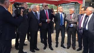 Visita del Presidente della Repubblica Mattarella al Centro Ricerche ENEA Casaccia. L'impianto PCS