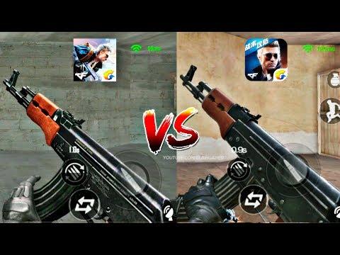 CrossFire: Legends Vs. CrossFire China HD - Comparison Weapons Graphics