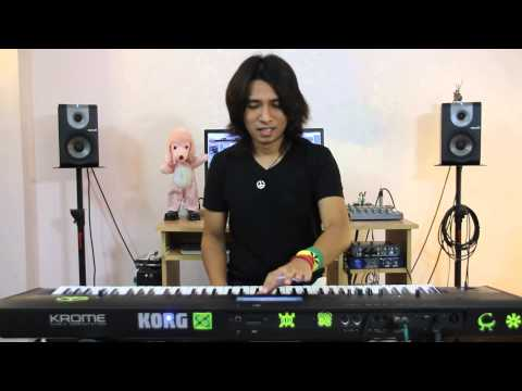 Korg Krome Review by Lycoolthai Part I