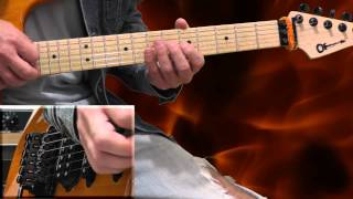 Ozzy Osbourne Crazy Train Guitar Lesson - part 1