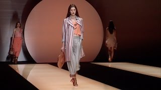 EMPORIO ARMANI WOMAN SPRING SUMMER 2016 - Full Fashion Show