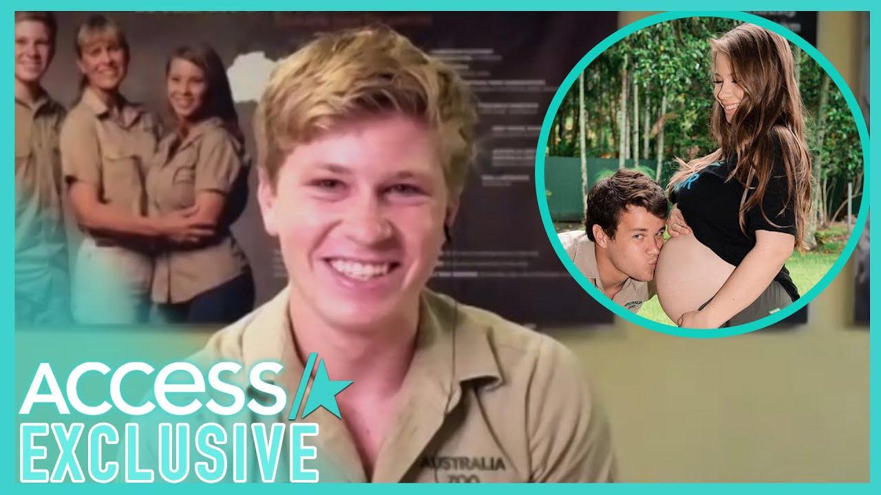 Robert Irwin Reacts To Calling Pregnant Sister Bindi 'Massive' On TV