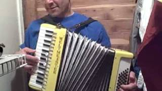 This Little Light of Mine - on Accordion,  Cajun Zydeco Style