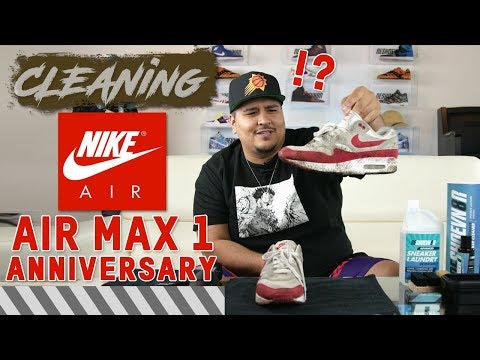 Nike Air Max 1 Anniversary Cleaning Tutorial