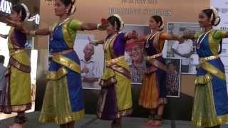 Indian Classical Dance (Pt 1) by SIFAS @ Singapore HeritageFest 2013 (Tiong Bahru Plaza)