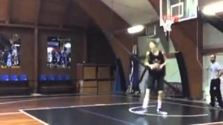 7'6'', 184 Pound 15 Year Old Basketball Player