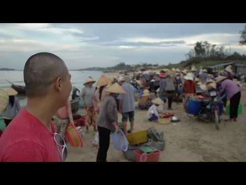 """Living on $1,000 a Month in Mui Ne Vietnam: Wholesale """"fish market."""" you have to see this! (part 2)"""