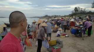 "Compass TV ep 3: Mui Ne, Vietnam ""fish market"" part 2"