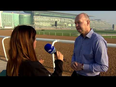 DubaiRacing s  The Curragh's Derek McGrath visits Meydan