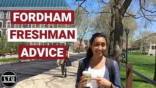 Freshman Advice from Fordham University Students - Campus Interviews (2018) LTU