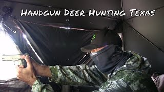 Handgun Whitetail Deer Hunting Texas