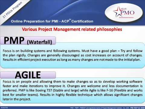 ONLINE PMI ACP Training   Online PMI-ACP Certification 21 PDUs ...