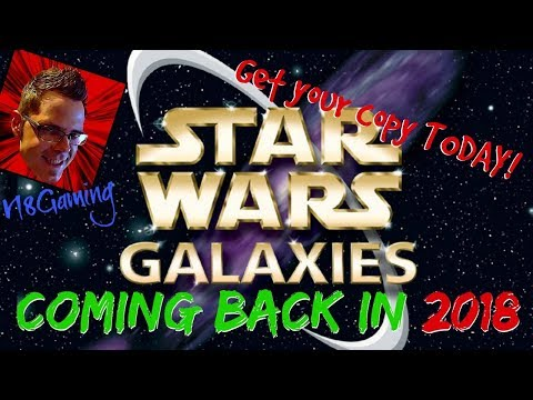 Star Wars Galaxies IS BACK 2018! ►SWG LEGENDS◄ NGE at its BEST. Come see!!