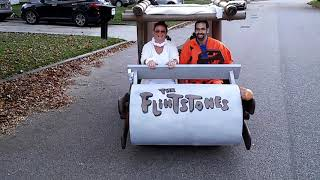 Flintstones car by Adam Friedman