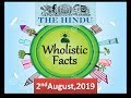 THE HINDU 2nd August, 2019