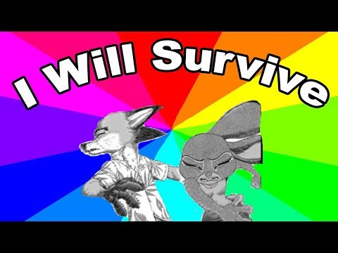 "What is ""I Will Survive""? A Look At The Shocking Zootopia Comic Memes"