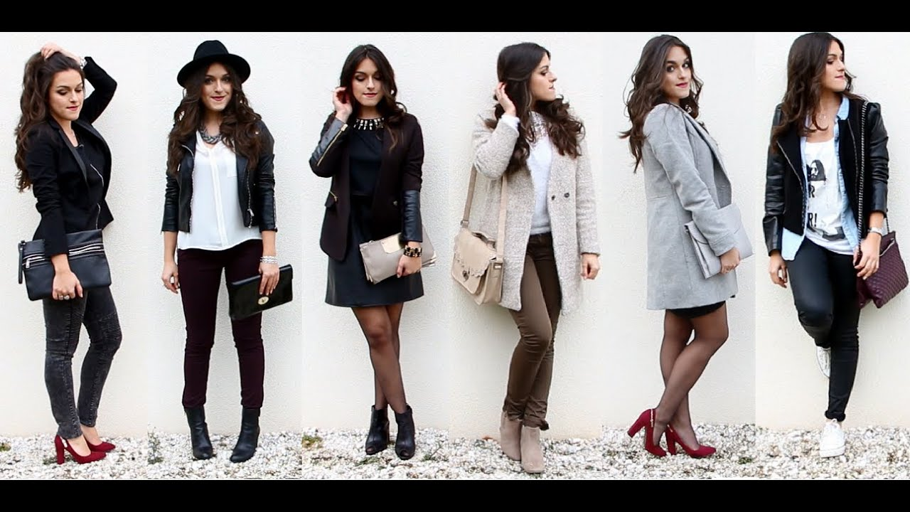 Lookbook 6 tenues pour 6 soir es diff rentes youtube for Idee repas simple soiree entre amis