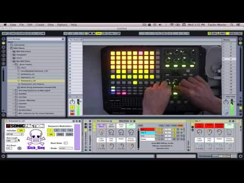 The Sickness Step Sequencer for APC40 - Tutorial