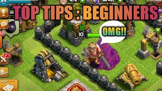 Clash of clans :Top 5 tips for beginners 2017(Tamil) #Tips || Tamilgamesandtech
