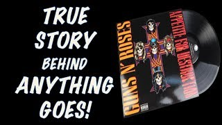 Gambar cover Guns N' Roses: The True Story Behind Anything Goes Appetite for Destruction!