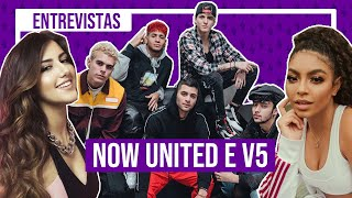 CNCO reage a Now United e V5