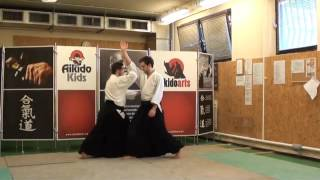 shomen uchi iriminage [TUTORIAL] Aikido basic technique
