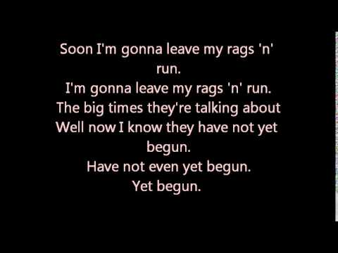 Admiral Freebee Rags 'n' run lyrics
